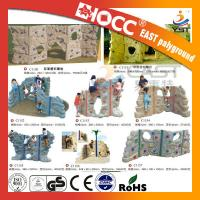 Buy cheap Outdoor Rock Plastic Climbing Wall Steel Pipe Structure PVC Coated Deck from wholesalers