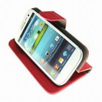 Buy cheap Cross Pattern Stand/Wallet/Leather ID/Credit Card Slots Case for Galaxy S3 i9300 from wholesalers