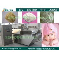 Buy cheap Fully Automatic Nutritional Baby Powder Food Extruder Machine /  baby food making machine from wholesalers