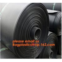 Buy cheap 0.8mm pond liner hdpe fish pond geomembrane,Composite Geomembrane for fishing pond,Polyester Needle Punched Nonwoven Geo from wholesalers