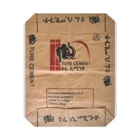 Buy cheap Water Resistant PP Woven Sack Bags With Valve , Recycled Cement Bags 50kg Capacity from wholesalers