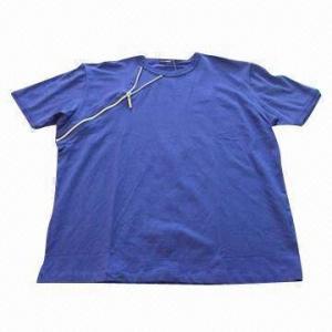 Buy cheap Men's T-shirt with decorative zipper product