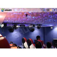 Buy cheap Entertainment Park 12D Cinema XD Theatre With 3 DOF Electric Chairs 180KG from wholesalers