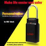Buy cheap Home Decoration Combination Key Box , Wall - Mounted Type Padlock Key Box from wholesalers