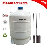 Buy cheap Liquid nitrogen dewar tank 50 Liter cryogenic container gas cylinder 50L Price from wholesalers
