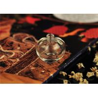 Buy cheap Art Deco Glass Perfume Bottles With Stoppers , Mini 5ml Perfume Bottles from wholesalers