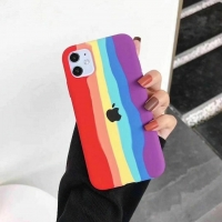 Buy cheap Rainbow Cell Phone Protective Covers For IPhone 7 8 Plus X XR 11 12 Pro Max from wholesalers