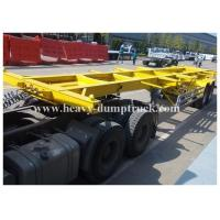 Buy cheap Container chassis trailer , skeleton semi trailer 3 axles 20ft and 40ft with warranty and parts from wholesalers