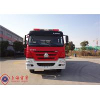 Buy cheap Four Door Structure Fire Fighting Truck 6x4 Drive ISO9001/CCC Foam Fire Truck from wholesalers