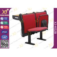 Buy cheap Upholstery MDF Writing Table Lecture Hall Seating With Book Net / School Furniture from wholesalers