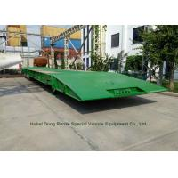 Buy cheap Folding Gooseneck Lowboy Trailer 100 Ton For Crane Excavator Tractor Transportation from wholesalers