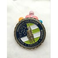 Buy cheap Customized metal souvenir antique promotional merchandise military challenge coins from wholesalers