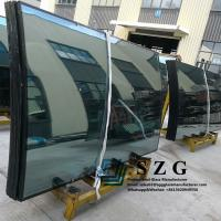 Buy cheap Curved Tempered Insulated Glass Bend Units IGU Double Glazed Bent Price from wholesalers