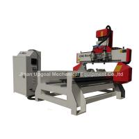 Buy cheap 500*1000mm Flat Cylinder CNC Carving Machine with 2 Spindles 2 Rotary Axis product