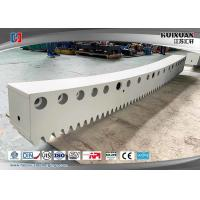 Buy cheap 18CrNiMo7-6 34CrNiMo6 4140,carburizing treatment Splicing arc rack from wholesalers
