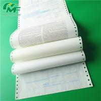 Buy cheap Blank Carbonless Business Continuous Computer Forms Abrasion Resistance Dynamic from wholesalers