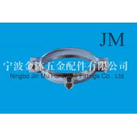Buy cheap Short Tonque Riser Pipe Fitting Clamps With carbon steel / Metal ,  M8 / M10 Nut Connect from wholesalers