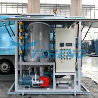 Buy cheap Double Stage Transformer Oil Filter Machine Increasing Breakdown Voltage from wholesalers