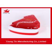 Buy cheap New Year Holiday Candy Gift Tins With Custom Artwork Printing and Embossing from wholesalers