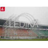 Buy cheap Special Customized Aluminum Shape Space Frame Truss Building Construction from wholesalers