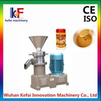 Buy cheap High quality 500-100kg/hour peanut butter making machine from wholesalers