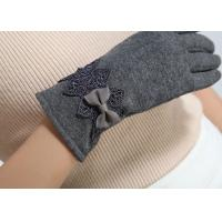Buy cheap Ladies customized women's fashion micro velvet fabric gloves for iphone screens from wholesalers