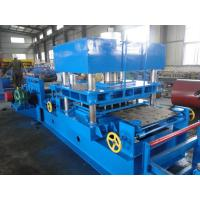 Buy cheap Automatic Imported PLC Control Wayside Guardrail Roll Forming Machine Use Hydraulic Blade Cutting System product