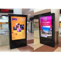Buy cheap Double Side Indoor Digital Signage Display 49 Inch FCC / RoHS Certificate from wholesalers