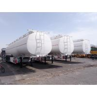 Buy cheap Factory directly 54000L fuel tank semi trailer with 4 axles for west africa from wholesalers