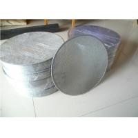 Buy cheap Leaf Filters Stainless Steel Wire Mesh Filter Element 24* 110 100 Micron ISO Listed from wholesalers