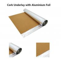 Buy cheap 2016 New Style Corkment Underla/Substrate with Aluminium Foil, 200-300kg/m3 Density, Good Damp & Sound Proof from wholesalers