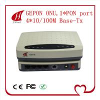 Buy cheap EPON ONU 4FE ports FTTH solution high quality best price compatible with Huawei/ZTE OLT from wholesalers