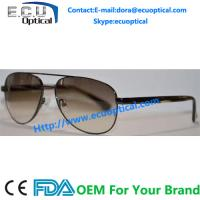 Buy cheap 2014 hottest new fashion men sunglasses metal models wholesale polarized sunglasses acetate with spring temple from wholesalers