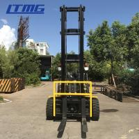 Buy cheap Hydraulic Transmission 4 Ton Forklift Truck Diesel Power Unit With Three Mast from wholesalers