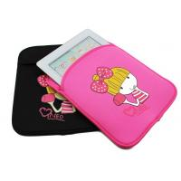Buy cheap Custom Cute 9.7 Neoprene Tablet Case / Neoprene iPad Case For Girls from wholesalers