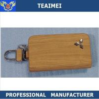 Buy cheap Colorful Genuine Cow Leather Car Key Case Keychain Multiple Key Holder from wholesalers