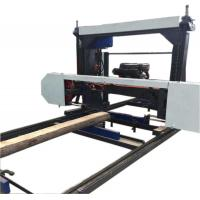 Buy cheap Portable Wood Log Cutting Band Sawmill, Portable Bandsaw Mill Machine for sale from wholesalers