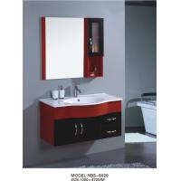 Buy cheap wall cabinet / PVC bathroom vanity / hanging cabinet / red color sanitary ware 100 X47/cm from wholesalers