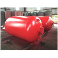 Buy cheap Portable Compressed Air Receiver Tank Vertical / Horizontal Type Large Volume product