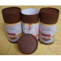 Coated Paper Food Packaging Tubes Containers Cardboard Roll Packaging