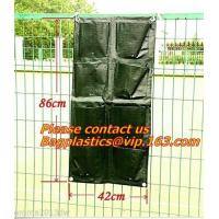 Buy cheap Waterproof, Garden, Patio Plant, Flower, Grow Bags, 8 Pockets, Pouch, Hanging Planter from wholesalers