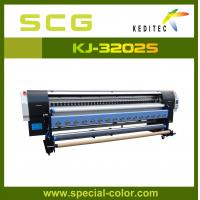 Buy cheap 3.2M Large format printer eco solvent printer machine With Epson DX5 printheads from wholesalers