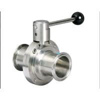 Buy cheap Stainless Steel Hygienic Butterfly Valve from wholesalers