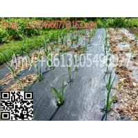 Buy cheap woven geotextile Plastic Modling Type Mulch plastic film for agriculture weed barrier from wholesalers