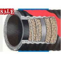 Buy cheap Custom Concrete Rubber Hose 4 Layers Steel Wire / 2 Layers Steel Wear DN64 from wholesalers