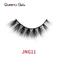 Buy cheap Glamorous 3D 22mm Natural Mink Lashes With  Private Label Packaging from wholesalers