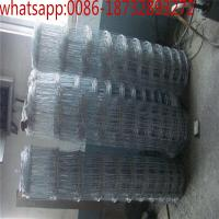 Buy cheap galvanizing high strength woven wire mesh/deer fence,deer farm fencing/deer wire mesh fence / field and ranch fence mesh from wholesalers
