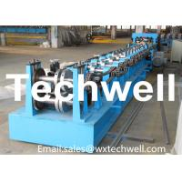 Buy cheap Automatic Control Cz Purlin Roll Forming Machine 20KW 18.5 Ton Easy Operate from wholesalers