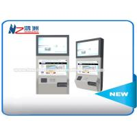 Buy cheap Stand Alone Wall Mount Self Service Banking Kiosk Dual Screen Led Or LCD from wholesalers