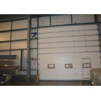 Induction bottom seal Sectional Overhead Door with electric limited display
